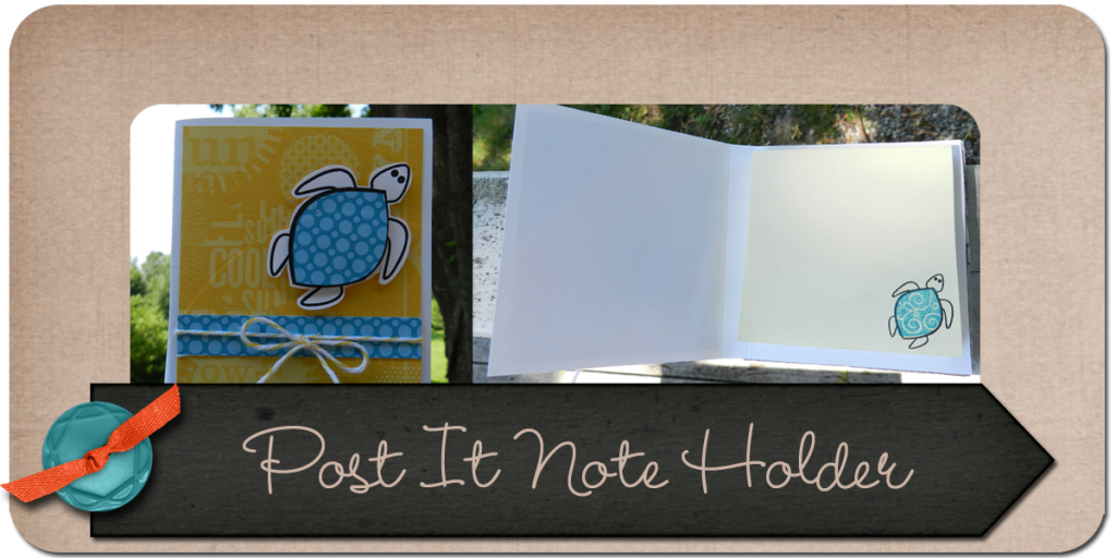 Post it note tutorial, paper crafts, stamping, the stamps of life
