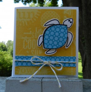 stamping, paper crafts, turtles, the stamps of life