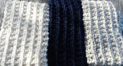 Everday Warmth scarf project, JulieK, Julie Kelley, Knit Scarves