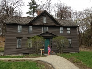 JulieK, Julie Kelley, Louisa May Alcott, Orchard House