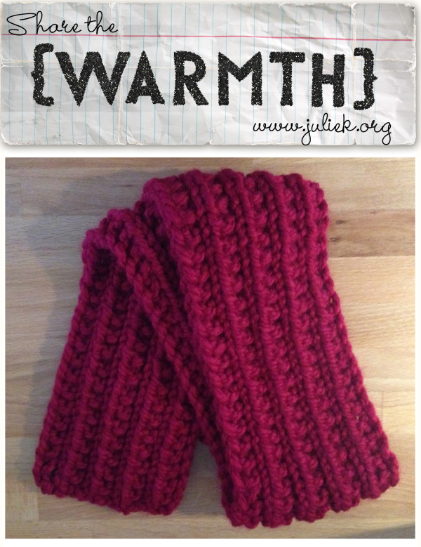 Share Warmth week 16